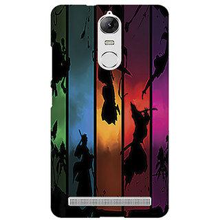 Lenovo K5 Note printed back hard cover/case,  Matte finsh, premiun 3D printed, designer case - PRINTGASM BY SS