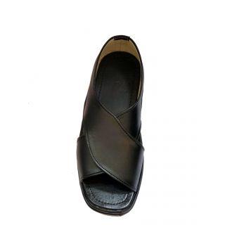 Shopolozy Black Comfy Sandals SN104-A45