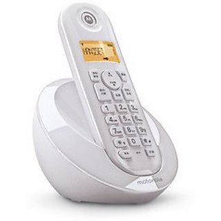 4e2fba23e0e Buy Motorola C601I Cordless Phone - WHITE Online   ₹2099 from ShopClues