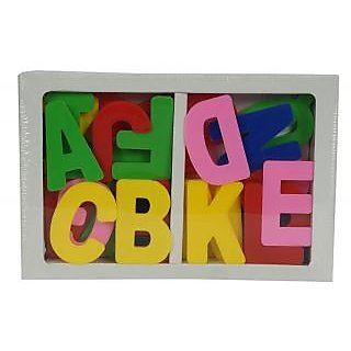 Aarushi Colourful Plastic Big Size A TO Z Educational Game Alphabets For kids