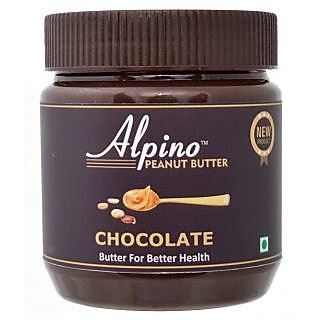 Alpino Chocolate Peanut Butter Creamy 340 gm