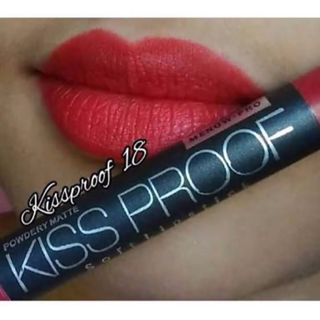 MENOW KISS PROOF CRAYON LIPSTICK SHADE 18 WATER PROOF