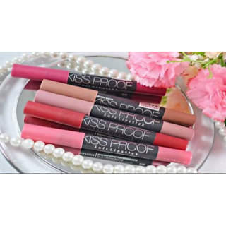 MENOW KISS PROOF CRAYON LIPSTICK SHADE 14 WATER PROOF