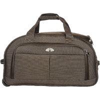Adonai WL 1302 Brown Duffle Bag With Trolley Set Of 3 Piece