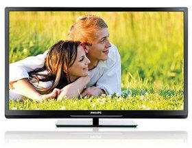 Philips 32 PFL 3938 81 cm 32 inches  HD Ready LED TV   Black
