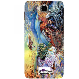 HIGH QUALITY PRINTED BACK CASE COVER FOR PANASONIC ELUGA TAPP DESIGN ALPHA124