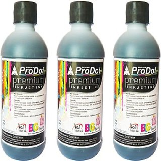 PRODOT BLACL 200ML INK (SET OF 3)