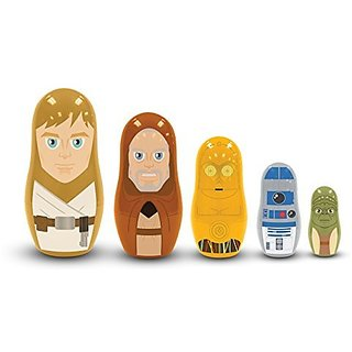 PPW Star Wars Nesting Dolls Jedi and Droids Toy