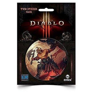 Diablo III Barbarian Class Sticker