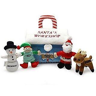 Babys My First Christmas Santas Workshop Playset