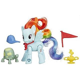 My Little Pony Friendship Is Magic Rainbow Dash Winning Kick Poseable Pony