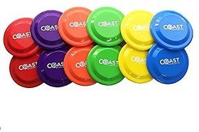 Coast Athletic Flying Disks Super Set - 12 Pack