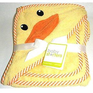 Darling Duck Hooded Bath Towel and Washcloth Set