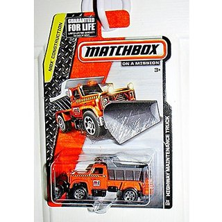 Matchbox Mbx Construction Orange/Gray Highway Maintenance Truck 33/120