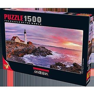 Anatolian Puzzle 1500 Piece Lighthouse At Portland Head
