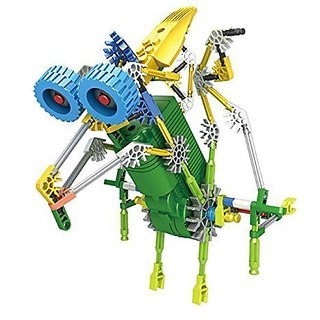 Dinosaur robot Toy 119pcs Set, Battery Operated, Compare to Knex Toys, Build a 3-D Design Figure, Thats Sturdy Enough to play with.