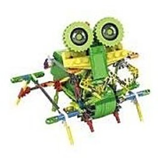 Walking Robot Toy 118pcs Set, Battery Operated Toy, Compare to Knex Toys, Build Your Dream Unique 3