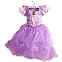 Disney Store Rapunzel Costume Dress For Kids - Size XS
