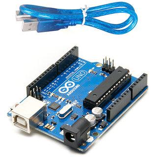 Arduino UNO R3 Board ATmega328P ATmega16U2 with FREE USB Cable