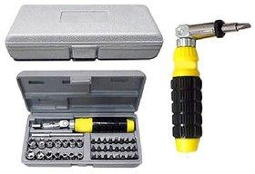 AIWA 41- Pieces Bit and Socket Set Tool Kit Screw Driver Set