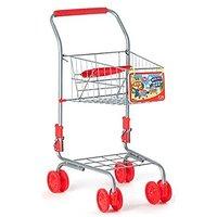 Pororo Mini Shopping Cart 16.54x11.81x23.82inches Red