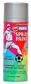 Abro Colour Spray Paint ( 400ml Net, SILVER )