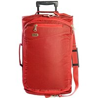 Timus Cameroon 55 Cm Red 2 Wheel Duffle Trolley Bag For