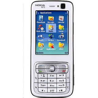 Nokia N73  /Good Condition/Certified Pre Owned(6 Month WarrantyBazaar Warranty) + Digital Watch