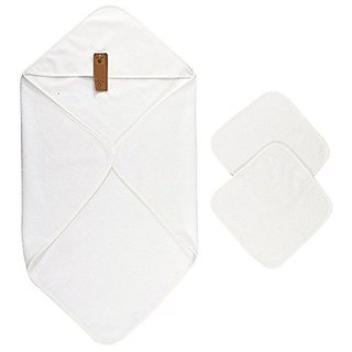 Buy Arus Baby Organic Turkish Cotton Terry Hooded Nursery Towel Wrap