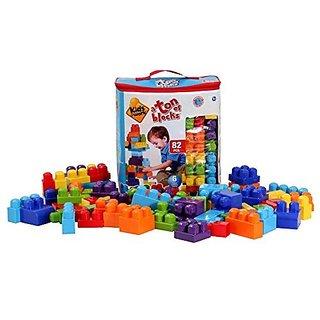 Amloid Kids At Work Block Tote (82 Piece)