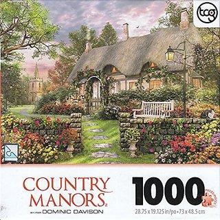 Church Lane Cottage By Dominic Davison 1000 Piece Puzzle