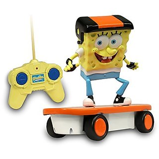 Sponge Bob 49 M Hz Skateboarder R/C Vehicle
