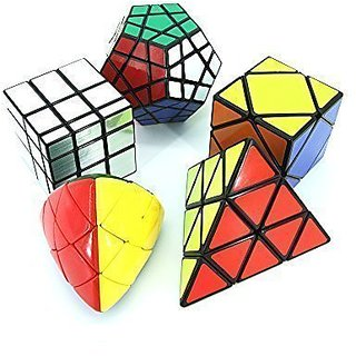Puzzle Cube Pack (5 In Pack Of Shengshou Irregular Shape Cube)
