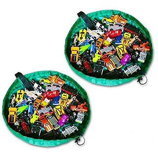 Buy 2 Mini Playbags By Ozzykids Our Deluxe Toy Organizer Is Perfect
