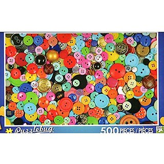 Oodles Of Buttons Puzzlebug 500 Pieces Jigsaw Puzzle