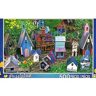 Birdhouse Collection Puzzlebug 500 Pieces Jigsaw Puzzle
