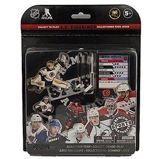Premium Sports Artifacts NHL Figure Starter Pack Fantasy Team: Kane, Giordano, Rask Game, 2.5