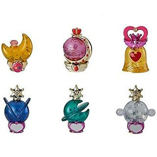 Gashapon Sailor Moon Prism Power Dome 2 Water Globe Collection Set