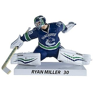 Premium Sports Artifacts Ryan Miller - NHL Vancouver Canucks Collectible Figure, 6