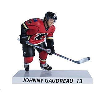 Premium Sports Artifacts Johnny Gaudreau - NHL Calgary Flames Collectible Figure, 6