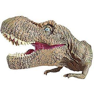 Christmas Gifts Gray Tyrannosaurus Rex Dinosaur Toys Hand Puppet