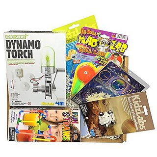 Calisea Kids Stem Gift Box, Dynamo Torch