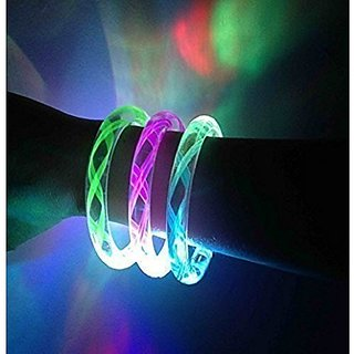 OliaDesign Flashing LED Bracelet (12 Piece), Wire, Large