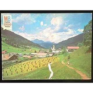 Milton Bradley 2500 Piece Puzzle Tirol, Austria