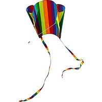 Hengda Kite For Kids 31 Inch Rainbow Parafoil Kite