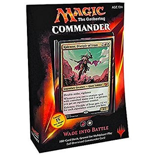 Mtg Commander 2015 Edition Magic The Gathering Wade Into Battle Red White Deck New Sealed