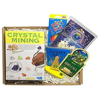 Calisea Kids Outdoor Gift Box, Crystal Mining