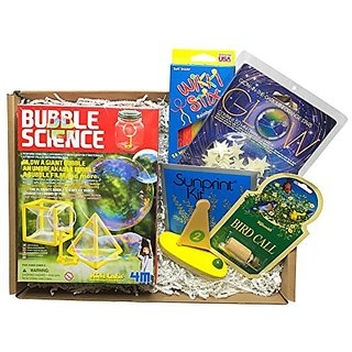 Calisea Kids Outdoor Gift Box, Bubble Kit