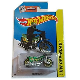 Hot Wheels Hw Off Raod Tred Shredder Green 85/250 Motorcycle