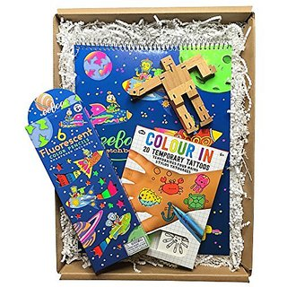 Calisea Kids Back To Basics Gift Box, Rocket